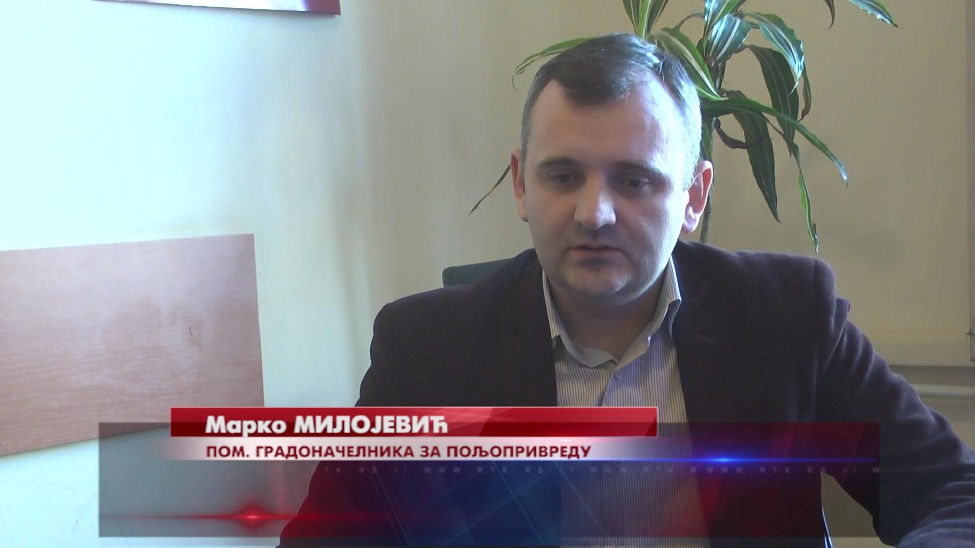 U  2019. po osnovu mera za podsticaj poljoprivrede Grada Kruševca utrošeno 33 miliona dinara