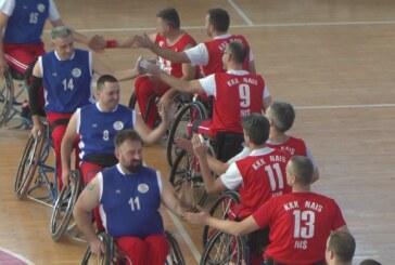 U kruševačkoj Hali sportova odigrana košarkaška utakmica u kolicima