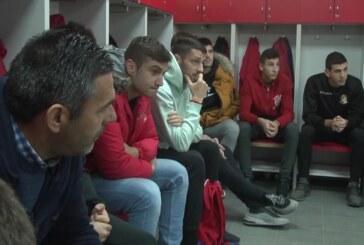Fudbaleri Napretka se okupili pred odlazak na pripreme u Antaliju
