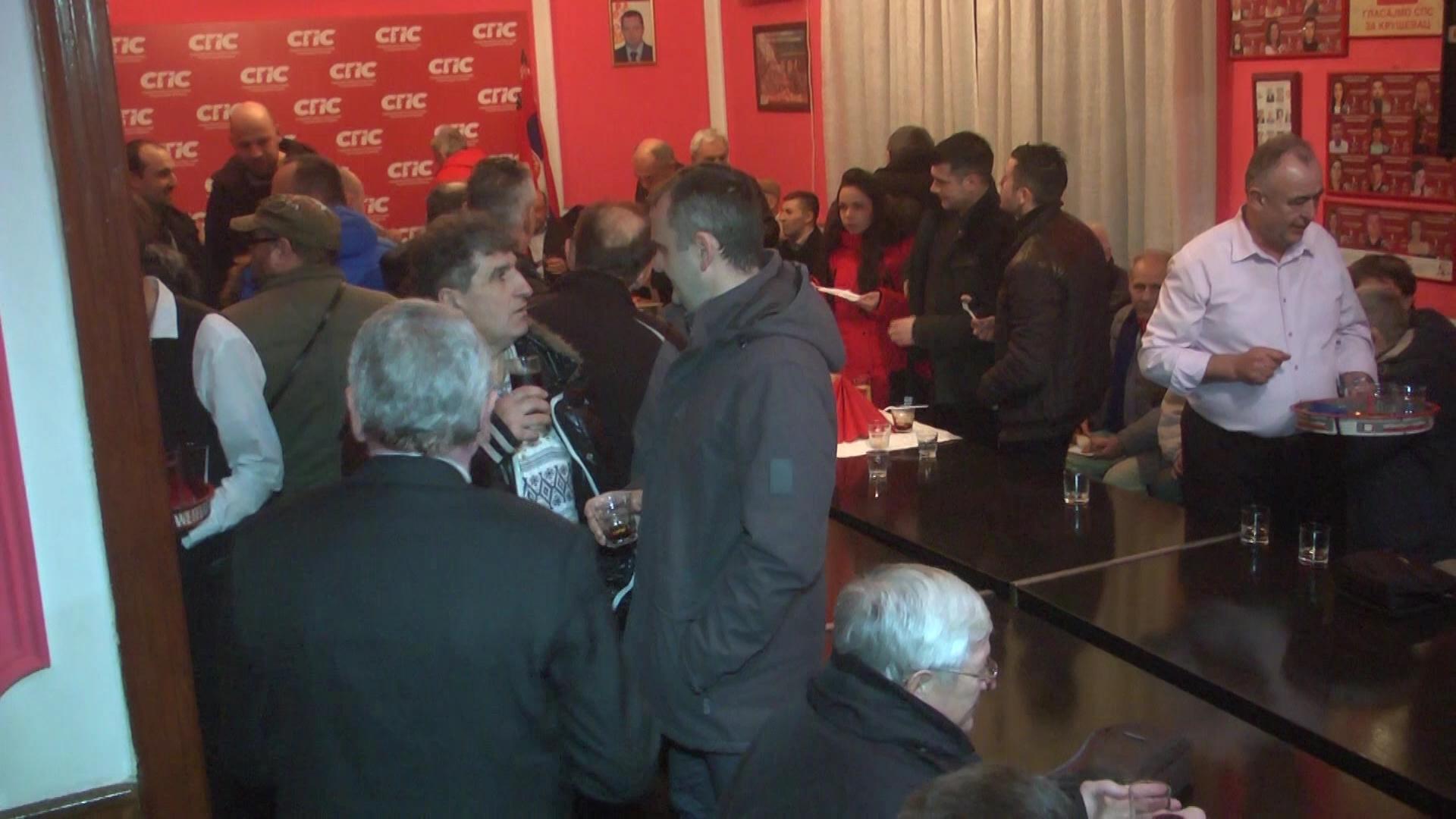 Mladi socijalisti Kruševca se okupili da obeleže početak Srpske Nove godine