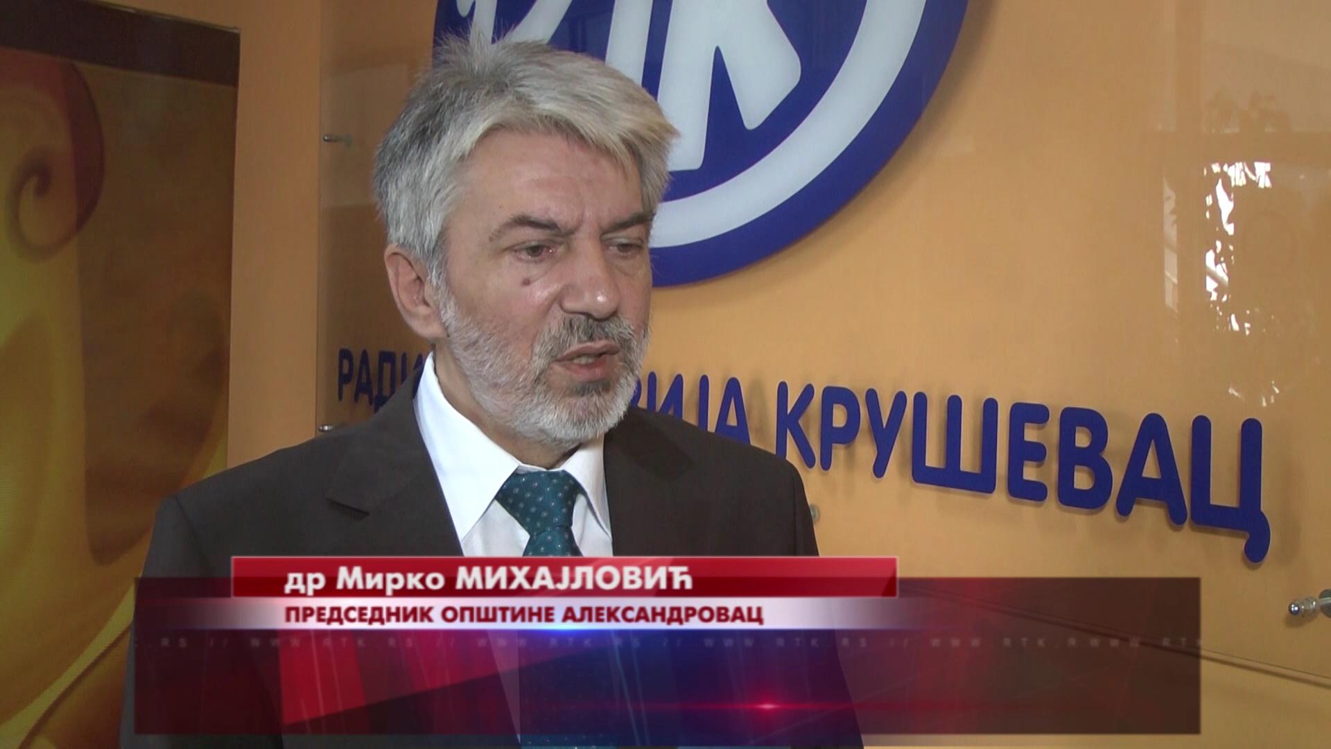 U lokalnoj samoupravi Opštine Aleksandrovac zadovoljni rezultatima u prošloj godini