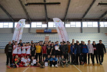Pobednik Kruševačke lige šampiona u malom fudbalu FK Knez Lazar