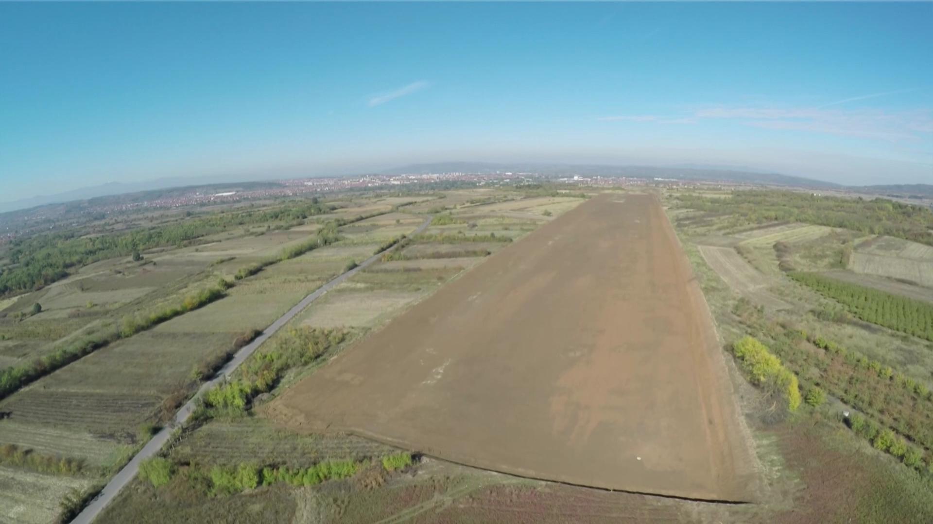 Kapitalna investicija izgradnje Aerodroma Rusulje nastavlja se izgradnjom hangara i poletno slethih staza