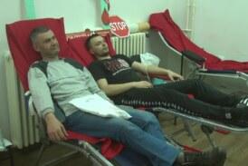 U prostorijama Crvenog krsta održana akcija dobrovoljnog davanja krvi