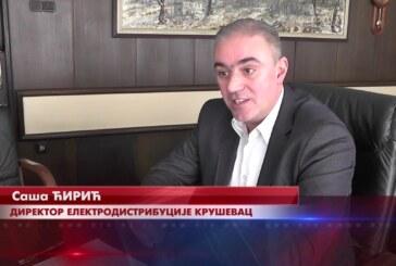 Velika i značajna investicija, izgradnja Moravskog koridora, prioritet i Elektrodistribucije Kruševac
