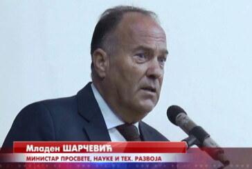 Ministar Šarčević u ponedeljak u Kruševcu i Trsteniku