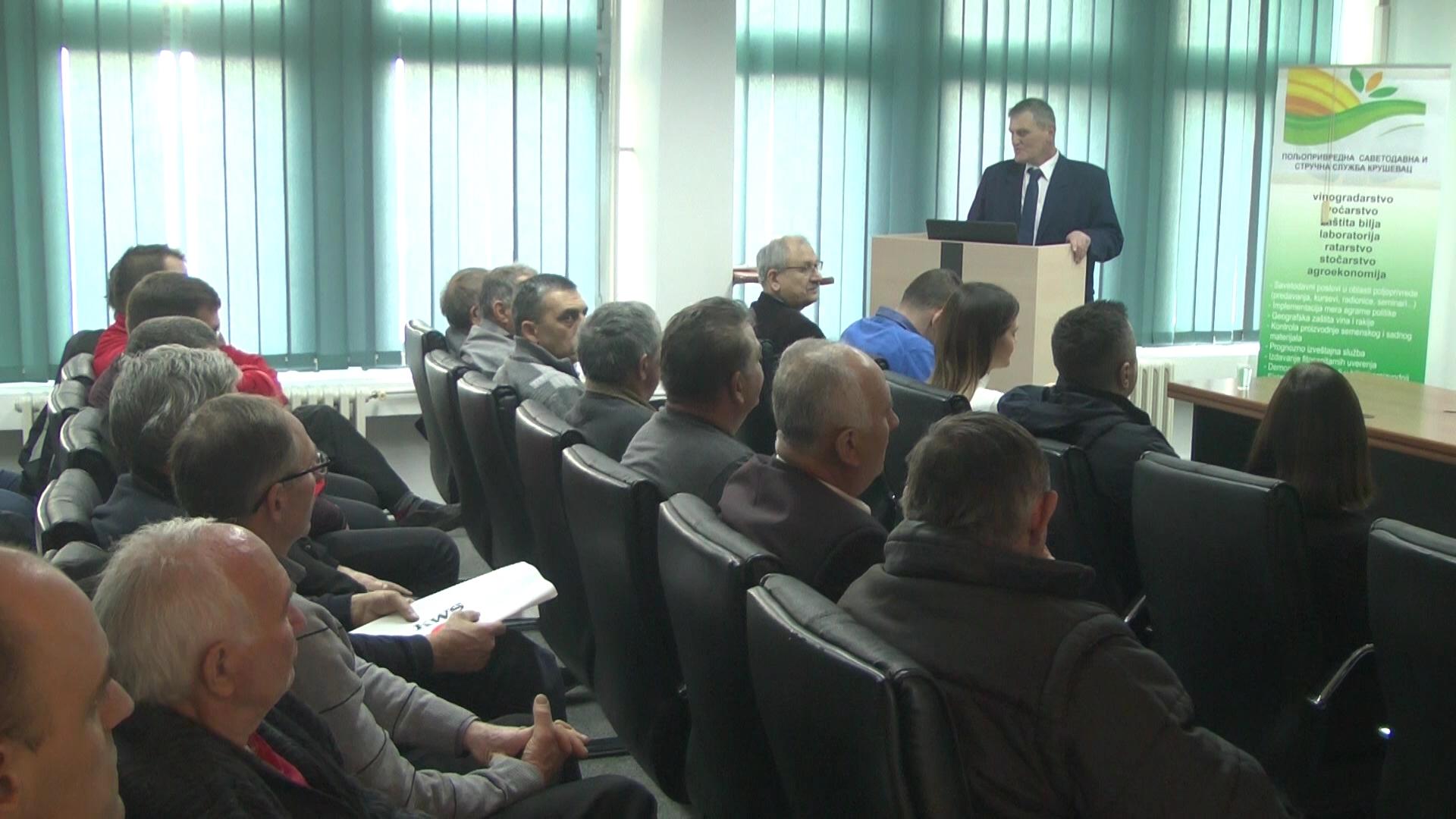 Otvorena Zimska škola – seminar za poljoprivredne proizvođače u Kruševcu