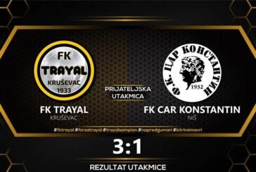 FK Trajal bolji od Cara Konstantina (3:1)