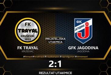 FK Trajal bolji od GFK Jagodine (2:1)