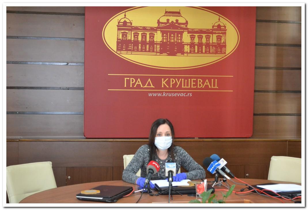 U Kruševcu epidemiološka situacija pod kontrolom, sprovode se sve mere koje je propisala vlada