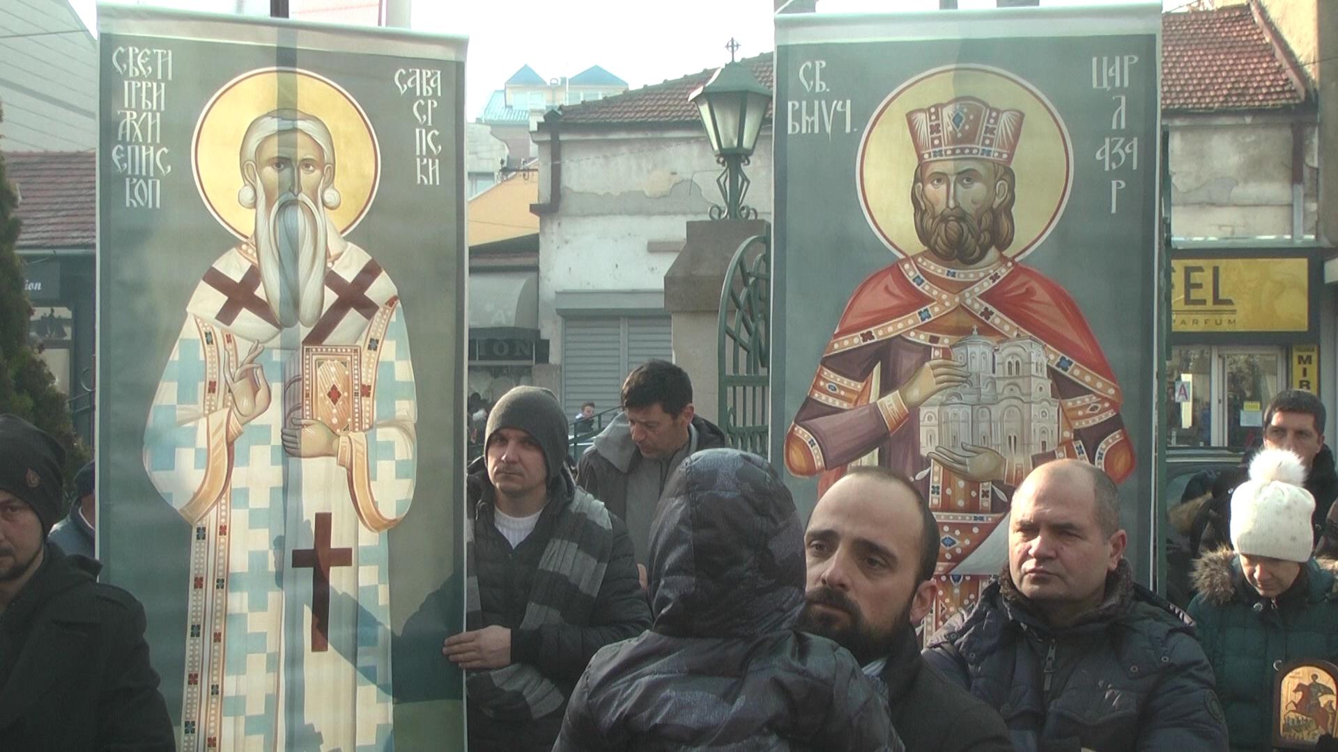 """U nedelju litija pod nazivom """"Kruševac doziva Cetinje, braćo sačuvajmo svetinje!"""""""