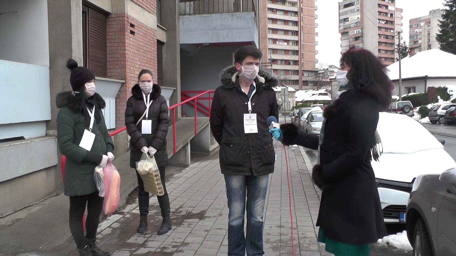 Akcija volontera Mesne zajednice Centar