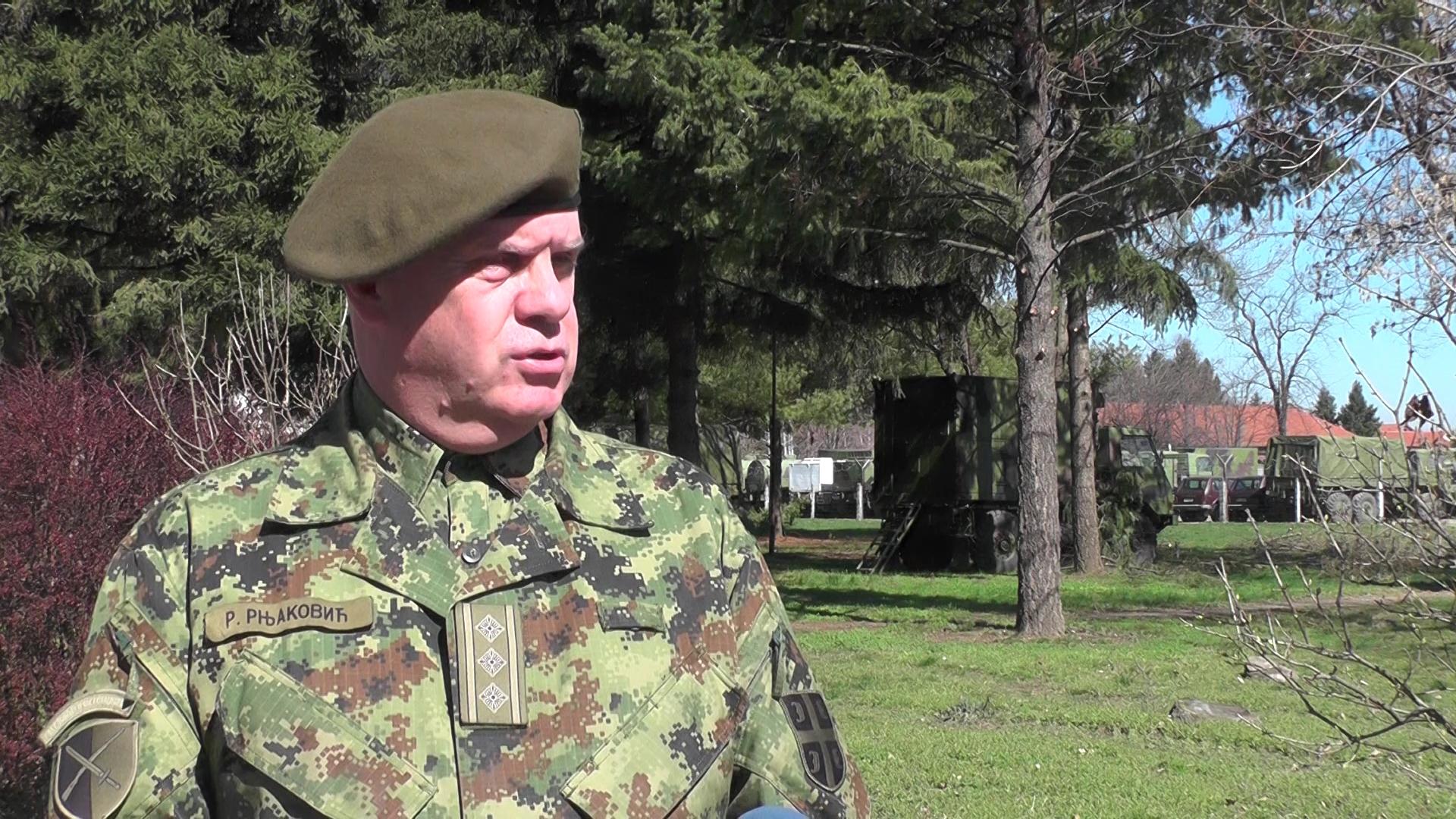 U Komandi za razvoj Rasinske brigade primenjuju se sve preventivne mere