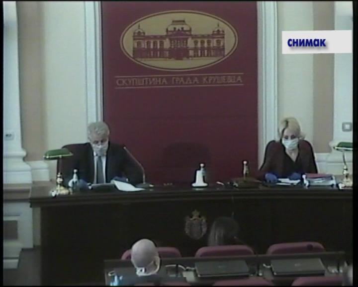 U Kruševcu održana 26. sednica Skupštine grada
