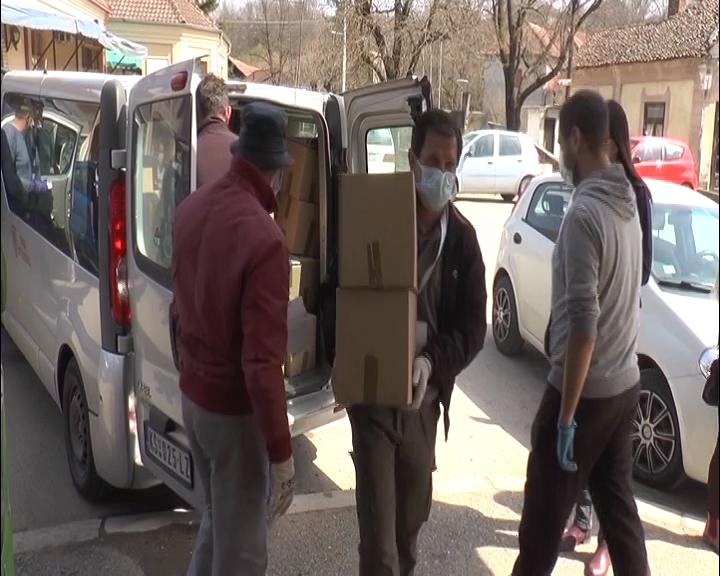 Paketi za starije preko 65 godina za meštane Mesne zajednice Konjuh