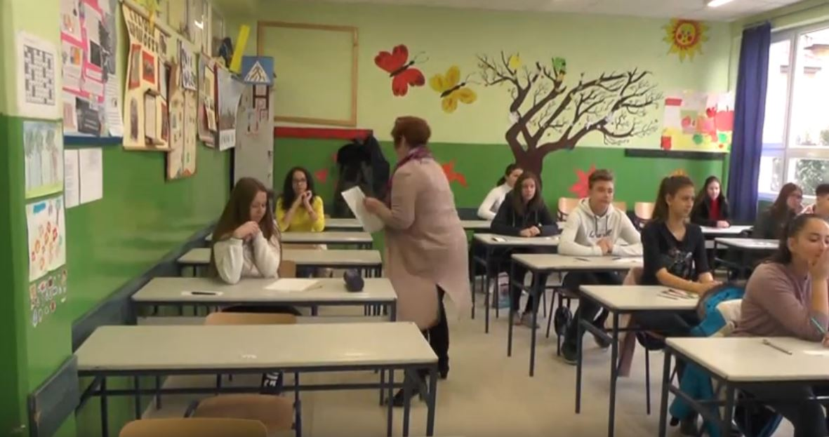 U Osnovnoj školi Jovan Jovanović Zmaj održano okružno takmičenje iz stranih jezika