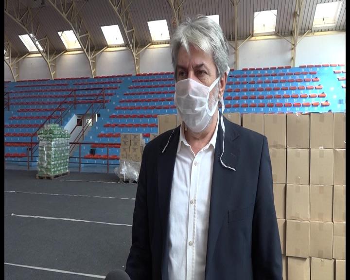 Podela paketa penzionerima i socijalno ugroženim licima u opštini Aleksandrovac