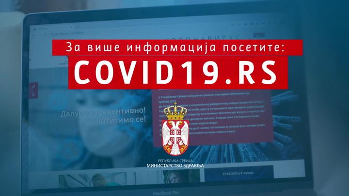 U Srbiji registrovano ukupno 6.630 potvrđenih slučajeva koronavirusa – u poslenjih 24 časa preminule tri osobe