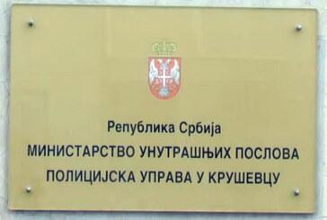 Iz Policijske uprave Kruševac: Prekršajne prijave zbog još sedam slučajeva kršenja odluka i zabrana