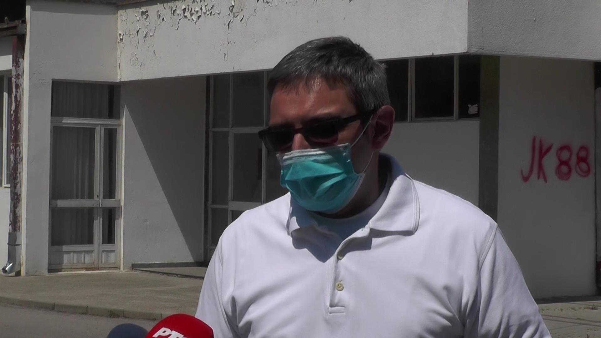 U Kovid bolnici u Hali sportova u Kruševcu trenutno smešteno 49 pacijenata