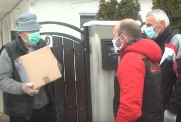 I u Mesnoj zajednici Jasika otpočela distribucija paketa za starije sugrađane