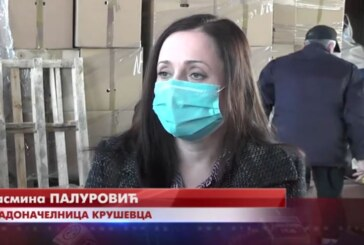 Gradonačelnica Jasmina Palurović: Završava se  podela paketa starijim sugrađanima
