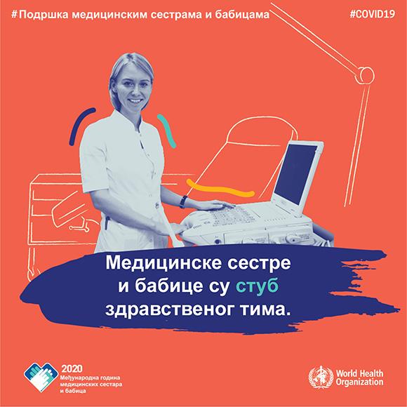 """Svetski dan zdravlja pod sloganom """"Podržite medicinske sestre i babice"""""""