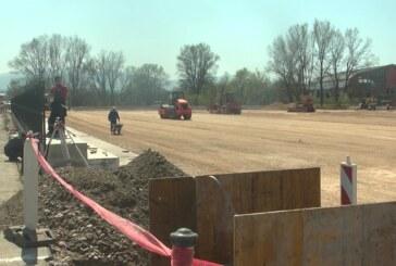 Nastavljeni radovi na izgradnji terena Borčevog stadiona u Bivolju