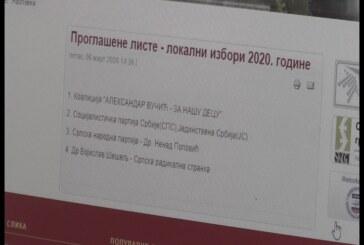 IZBORI 2020: U Kruševcu do sada prijavljene četiri liste za 70 odborničkih mesta u gradskom parlamentu