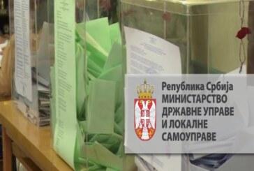 Dostupan deo biračkog spiska za područje grada Kruševca