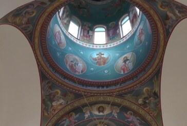 Uređenje nove crkve u Globoderu