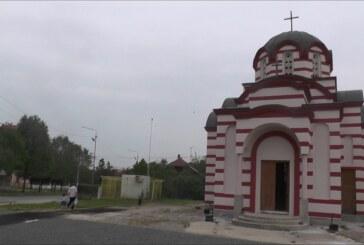 U toku radovi na uređenju crkve u naselju Ujedinjene nacije