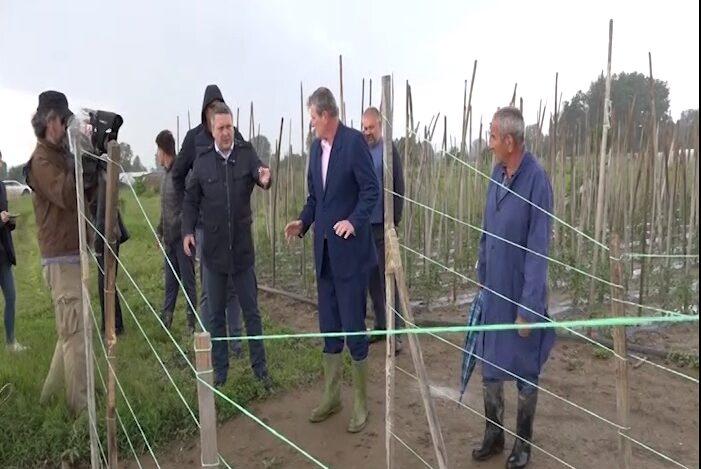 Pomoćnik ministra poljoprivrede u poseti trsteničkoj opštini