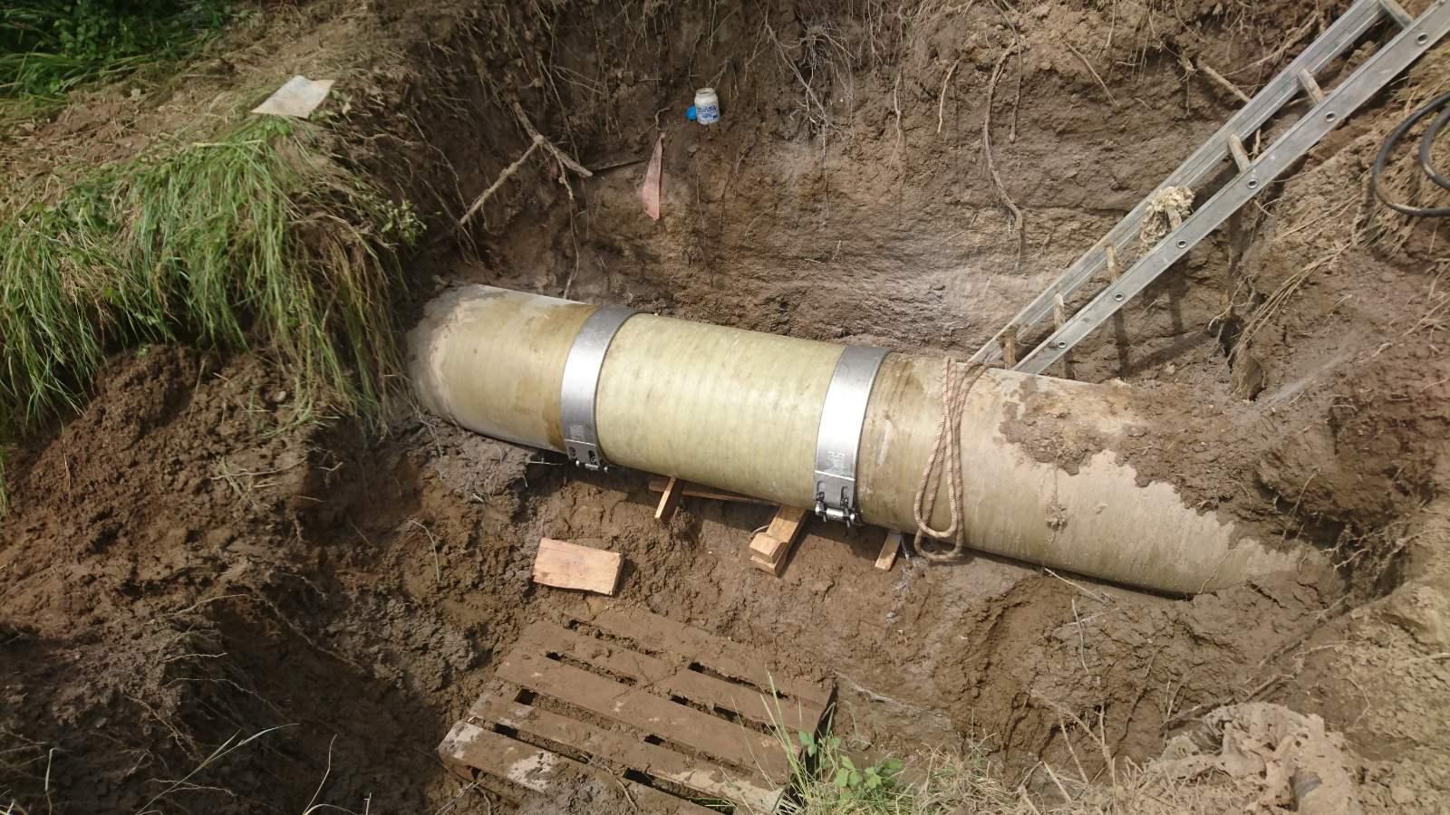Saniran kvar na magistralnom cevovodu kojim se vodom snabdevaju opštine Ćićevac i Varvarin