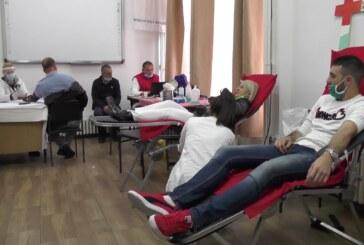Redovna akcija dobrovoljnog davanja krvi Crvenog krsta Kruševac i niške Transfuzije