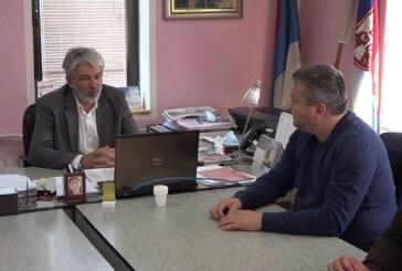 Pomoćnik ministra poljoprivrede Aleksandar Bogićević u poseti Aleksandrovcu