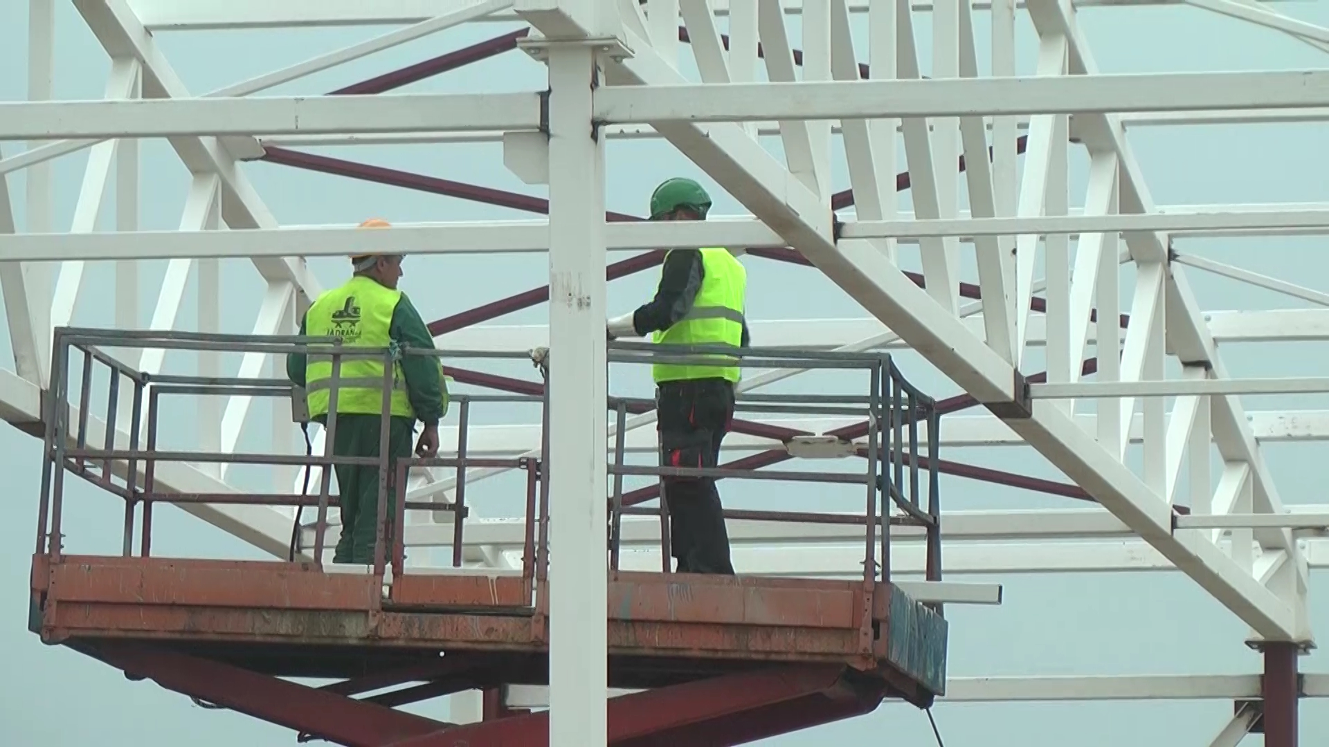 Radovi na izgradnji hangara na aerodromu Rosulje teku planiranom dinamikom