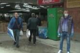 Na Staroj zelenoj pijaci uz poštovanje propisanih mera – ponuda dobra – kupaca manje nego inače
