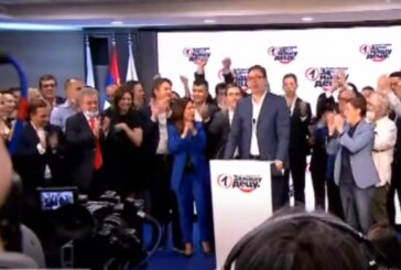 Vučić: Dobili smo najveće poverenje u istoriji Srbije