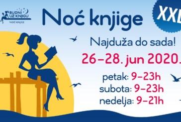 Noć knjige najduža do sada, od petka do nedelje! (26-28. jun)