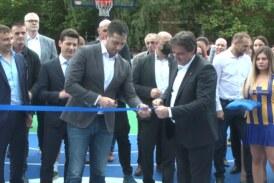 Ministar za omladinu i sport otvorio novo igralište u Kruševcu
