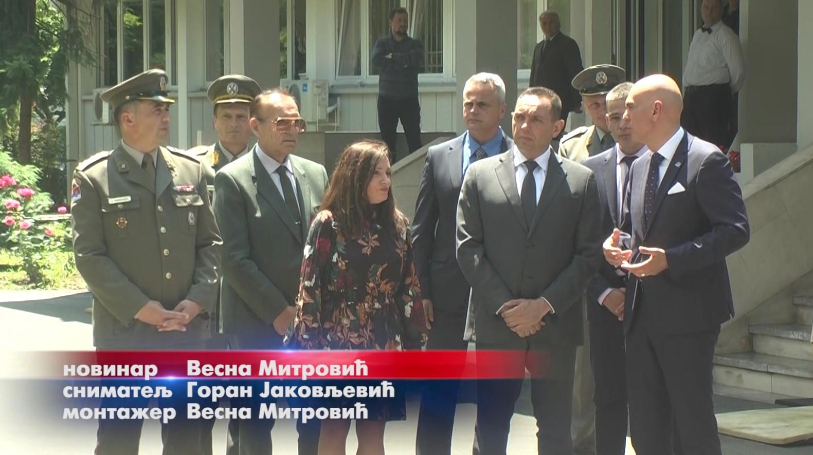 Ministar odbrane Aleksandar Vulin otvorio u Trajal korporaciji dva nova pogona
