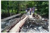 Gradonačelnica Jasmina Palurović obišla oštećenu putnu infrastrukturu i mostove u Bucima i Lomnici