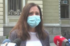 Posle proglašenja vanredne situacije na teritoriji Grada Kruševca, gradonačelnica Jasmina Palurović održala konferenciju za novinare