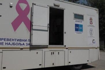 """U Domu zdravlja """"Dr Vlastimir Godić"""" u Varvarinu stacioniran mobilni mamograf"""