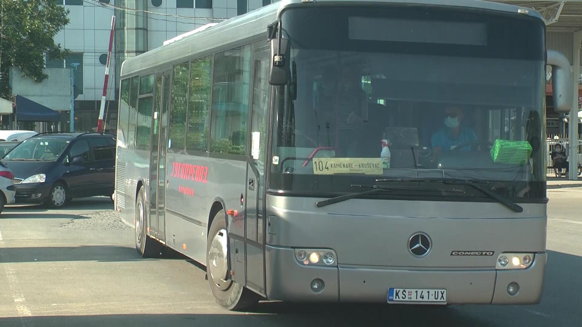 U autobusima Jugoprevoza sve mere zaštite od koronavirusa, kojih se pridržava najveći broj putnika