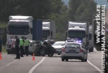 """Kruševac: I druga žrtva teške saobraćajne nezgode – vozač """"opel astre"""" preminuo u bolnici"""