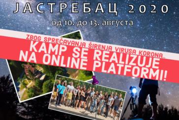 Astronomski kamp Jastrebac 2020 onlajn