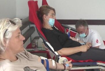 Akcija dobrovoljnog davanja krvi u crkvi na Rasini