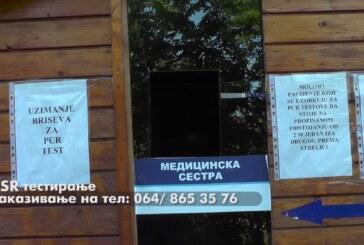 U Domu zdravlja Kruševac PSR komercijalno testiranje na Covid 19